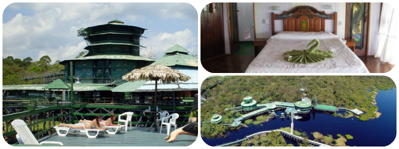 Best TreeHouse Hotels - Ariau Amazon Towers Hotel