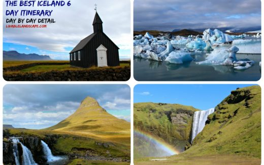 Best Iceland 6 Day Itinerary Vacation